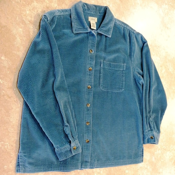 e213e973f6a L.L. Bean Tops - L. L. Bean Comfort Corduroy Big Shirt